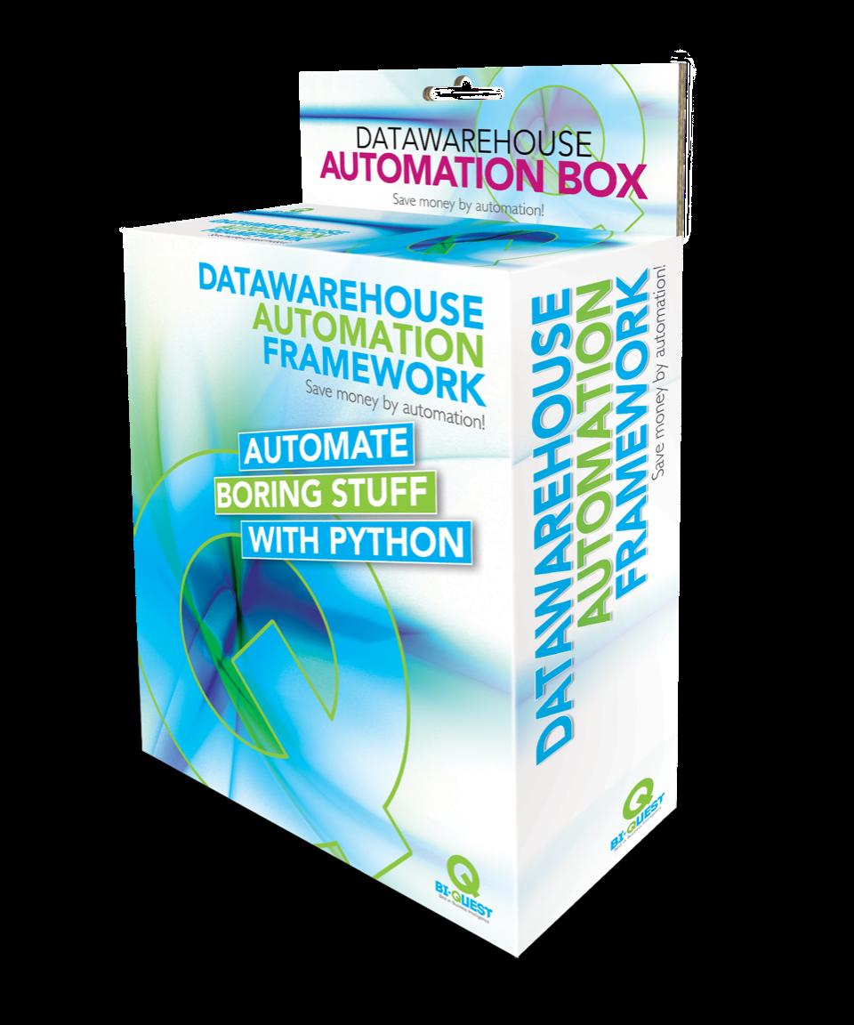 Datawarehouse automation workshop